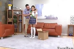 Little brown teen and petite pussy Forgetful Father Forgiveness