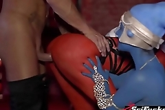 Aayla Secura and her Jedi sister Shaak Ti fucked in a 3some