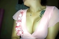 NRI GIRL MASTURBATING  TO HUSBAND FRIEND