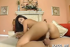 Fancy woman with big juicy ass gets drilled till agonorgasmos