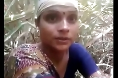 Desi married mom fuck in forest