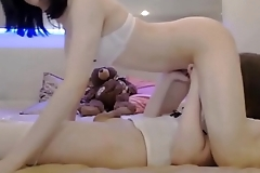Teen Transsexual Babes Having A 69