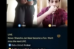 Pakistani Guy Ayan Ayub make a girl naked live on Bigo