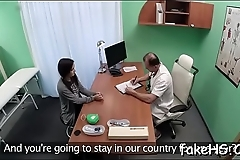Check out how immodest cunt of a naughty doctor gets hammered