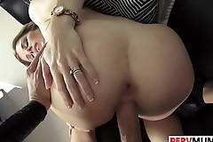 Stepson Slamms His Sultry Stepma Cory Chase