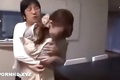Jav hot mom fucked by angry son