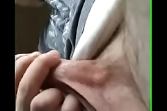 Drew masturbating in car in public par