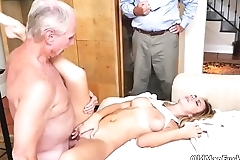Natural boobs wife Molly Earns Her Keep