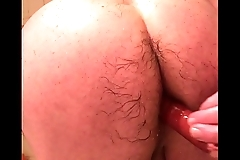 my ass full of a long sausage pulling out