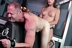 Abella Danger Punishes Sub Dude Hard