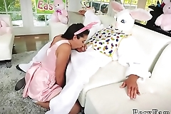 Amateur teen toy compilation and pussy lick by horny man Uncle Fuck