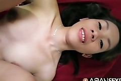 Asian Sex Diary - Timid Filipina MILF gets pounded by white cock