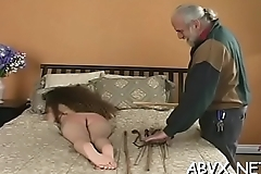Aged woman extreme servitude in naughty xxx scenes