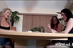 Nice and hard knob is the merely knob milf loves to ride