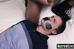 Nasty cop destroys twinks ass before letting him go free