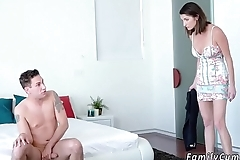 Taboo Stepmom Found My Jizz Rag
