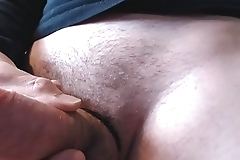My solo 108 (Wanking my hard cock and cumming up close)