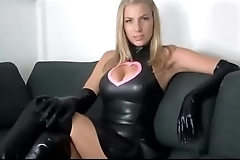 Latex Mistress Domination JOI