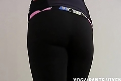Wearing these yoga pants makes me really horny JOI