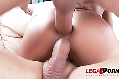 Latina Beauty Liv Revamped'_s 1st Double Penetration Action