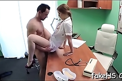 Check out how filthy immodest cleft of a nasty doctor gets hammered