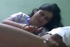 Indian Horny Desi cheating  bhabhi doing hand job cock rubing deep scuking hard blowjob deep throat eat cumGraet suck me my bhabhi till my cum