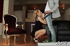Porn doll bends for black dong and moans in pov anal scenes