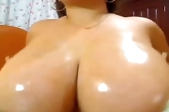 Huge tits shown off live -nudetitcams.com