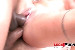 Teen Stunner Silvia Dellai Rough Anal Treatment and Pissing with Double Penetration