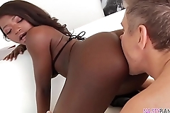 Noemie Bilas beautiful black ass fucked deep