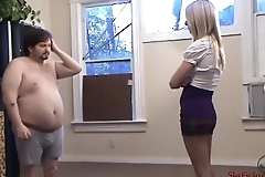 Punished &amp_ Humiliated by Prefect - Screams and Lexi'_s Strong Hands