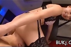 Needy young asian gal leaves random guy to cum on her face