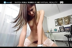 BaDoink VR Two Hard Cocks For Ena Sweet VR Porn