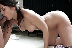 Classy european assfucked in the kitchen