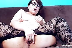ASMR Pussy fingering on the couch. Cum hear how wet I am!!